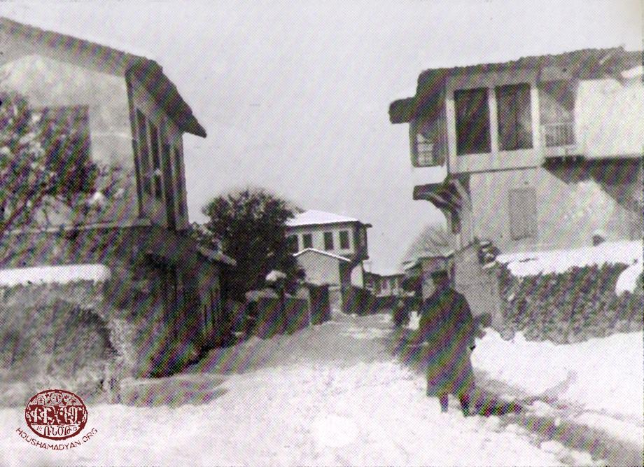 Dörtyol – 1919. Winter vista from town