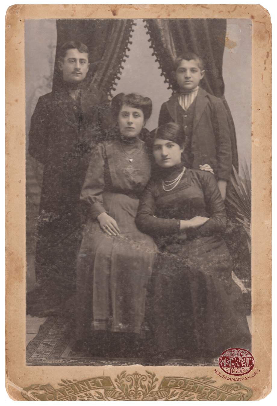 Trabzon/Trebizond. Members of an Armenian family