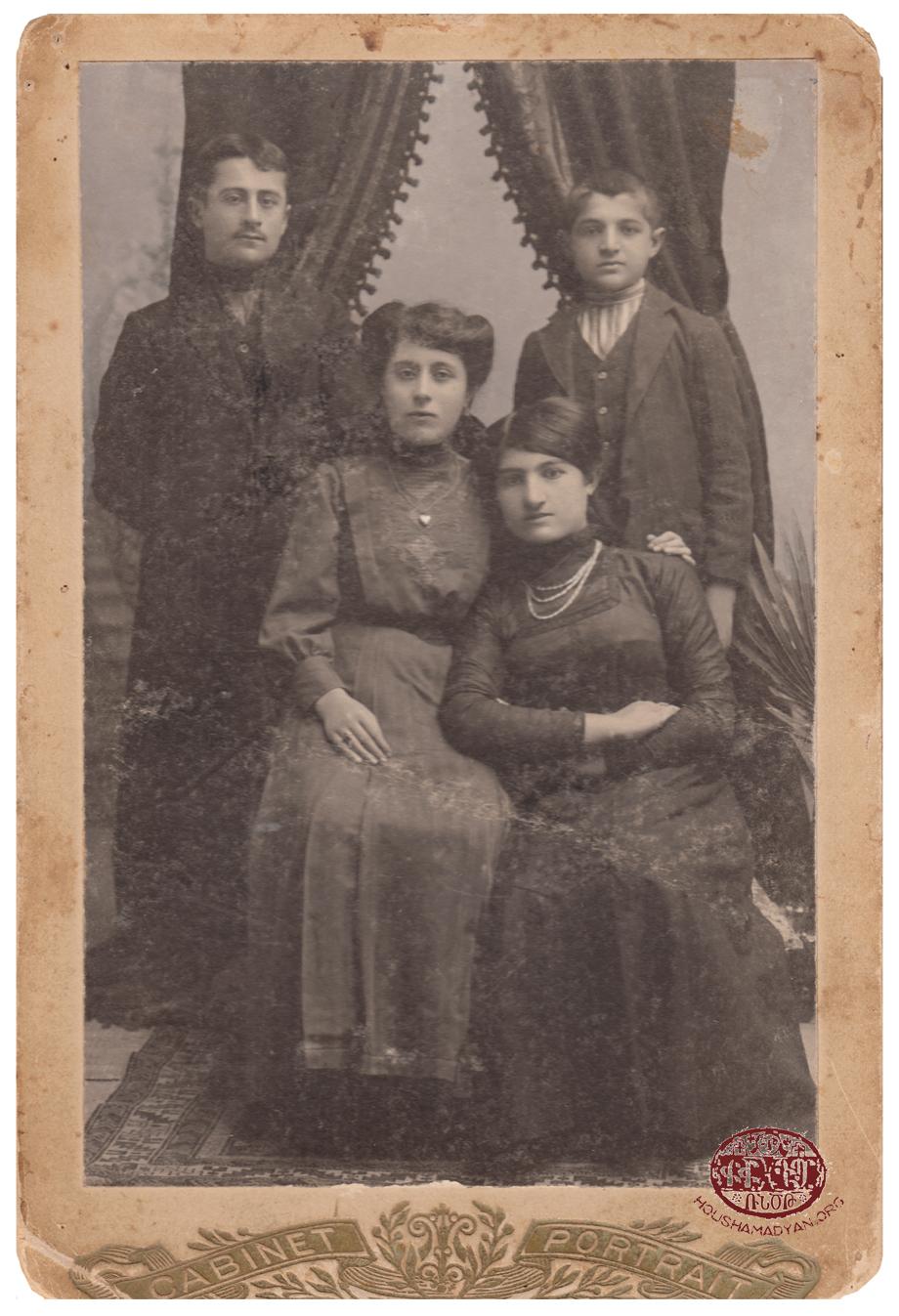 Տրապիզոն. հայ ընտանիքի մը անդամներ