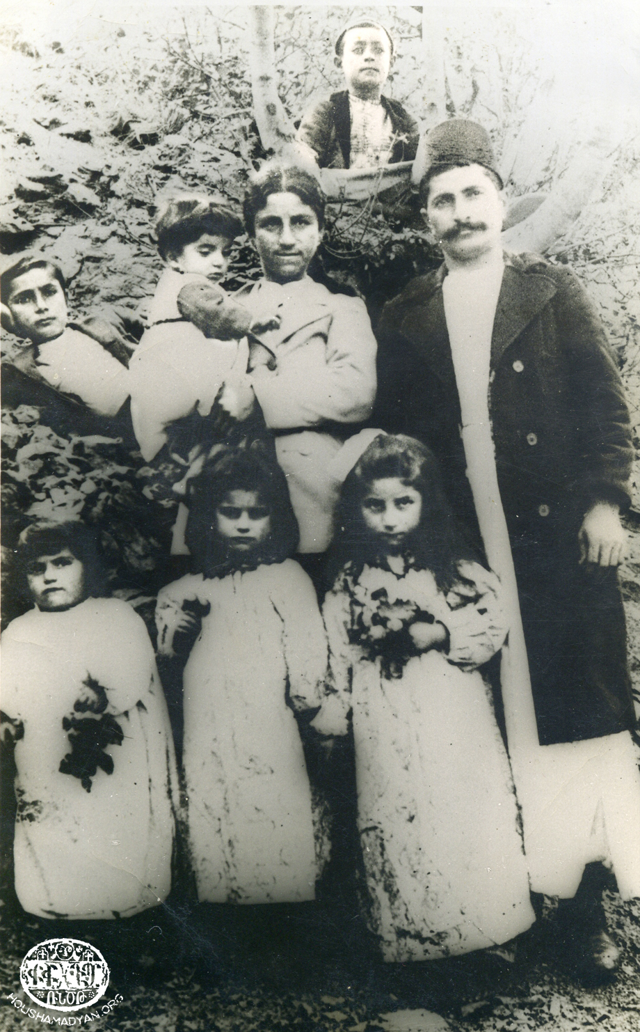 Sis - 1905 or 1906. The two adults standing in the photo are Hagop Giuliudjian and his wife Tskhiun Giuliujian
