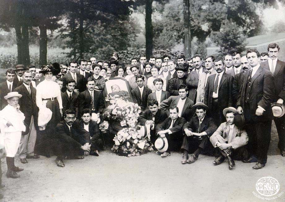 Adana, 1910, cenaze töreni