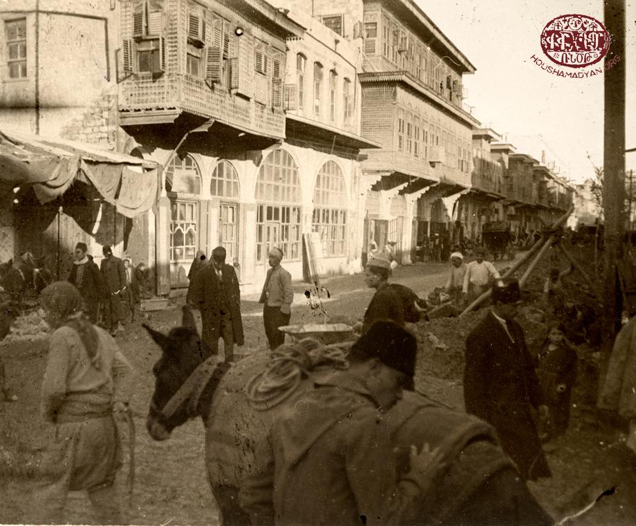 An Aleppo street scene