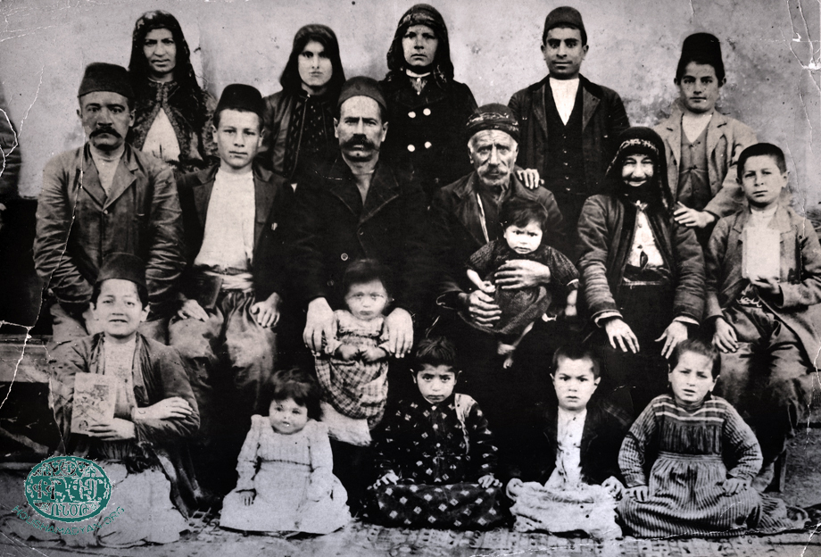Posdaldjian and Uzunian families from Hadjin