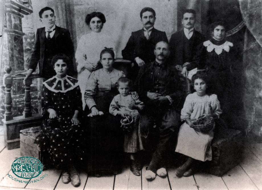 The Kerkyasharian family from Hadjin, 1910