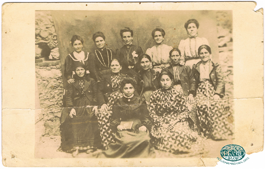 Armenian women from Hadjin (Source: Houri Ellezian collection. Courtesy of Antranik Dakessian)