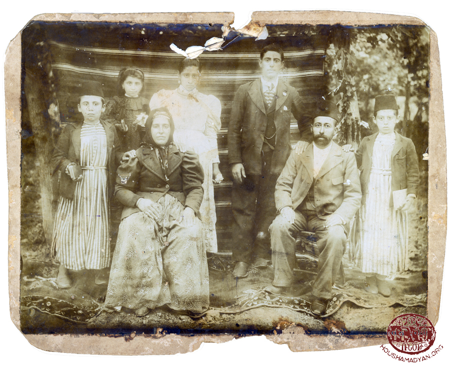 Özerli. The Peltekian family (Source: Bedros Sahag Peltekian collection)