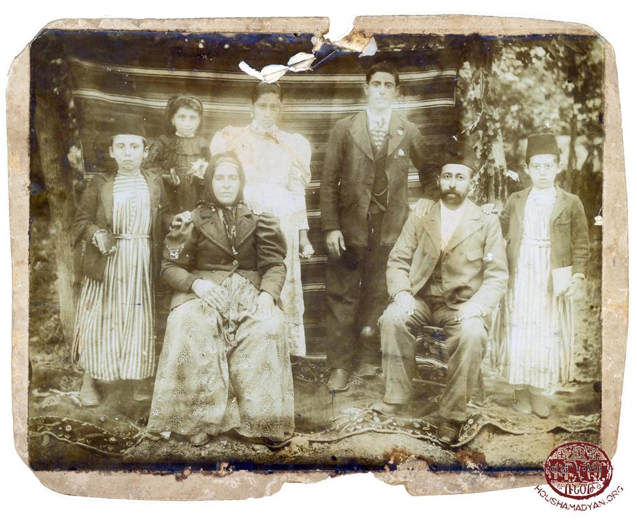 Özerli. The Peltekian family (Source: Bedros Sahag Peltekian collection)