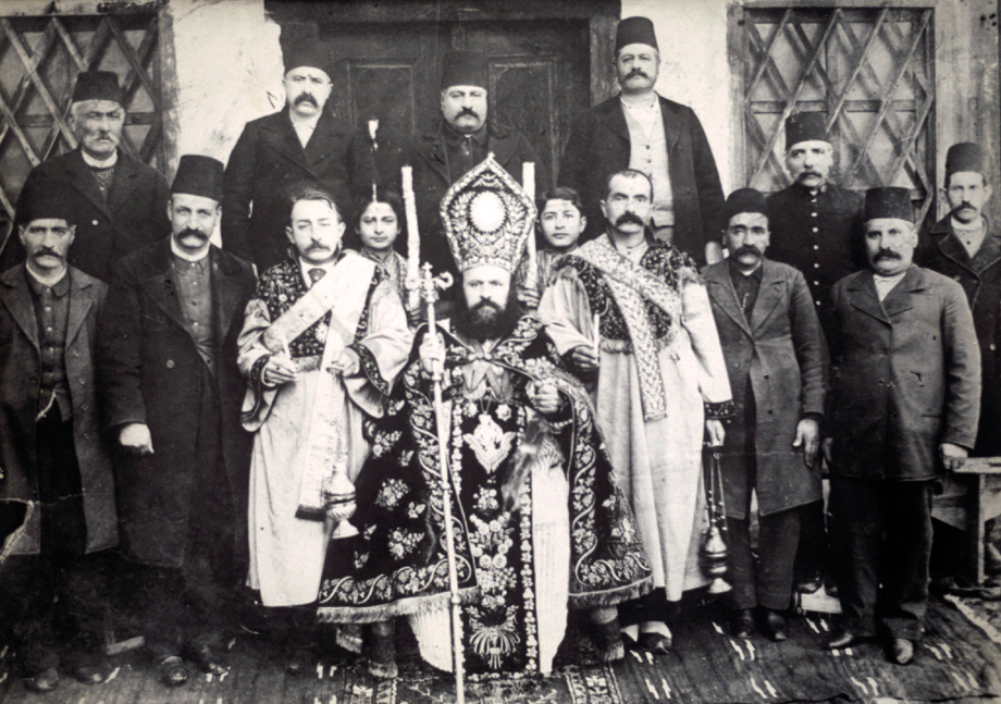 Chorum/Çorum (Ankara vilayet), 1904. Representatives of the Armenian community