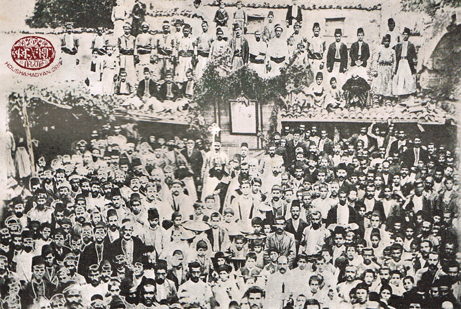 1907 – Ceremonial laying of the cornerstone for the reconstruction of St. Kevork Church