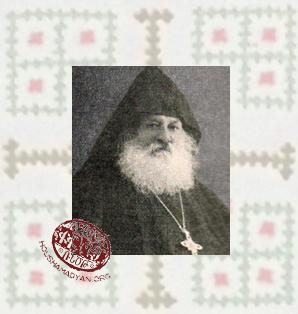 Senior Archimandrite Khachadur Der Ghazarian (1848-??)