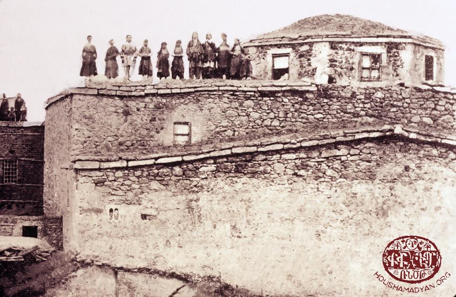 Pazmaşen (Bizmişin/Sarıçubuk), Surp Asdvadzadzin Kilisesi (Kaynak: Vahe Hayg, a.g.e.)