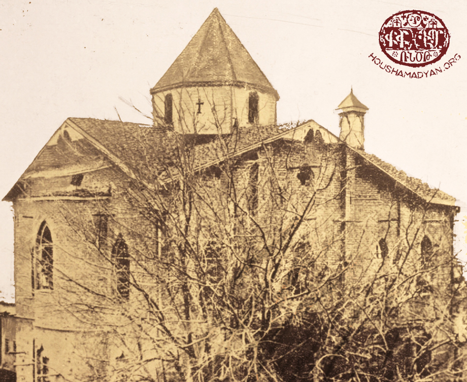 The church of St Kevork in Khulakiugh (Hulvenk, Şahinkaya)