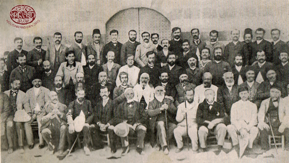 1890 – Participants at a general assembly of the Cilician Union of the Armenian Evangelical churches in Marash
