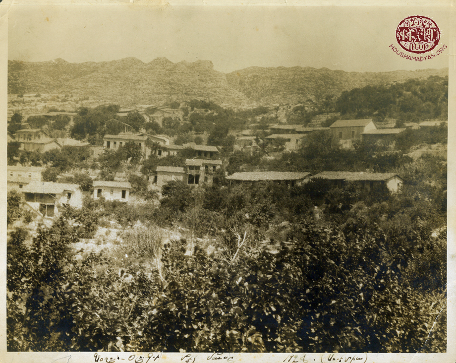 A partial view of Yoghounolouk village in Mousa Ler
