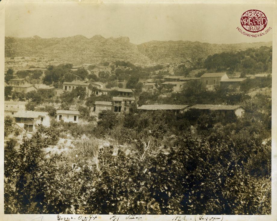 A partial view of Yoghounolouk village in Mousa Ler