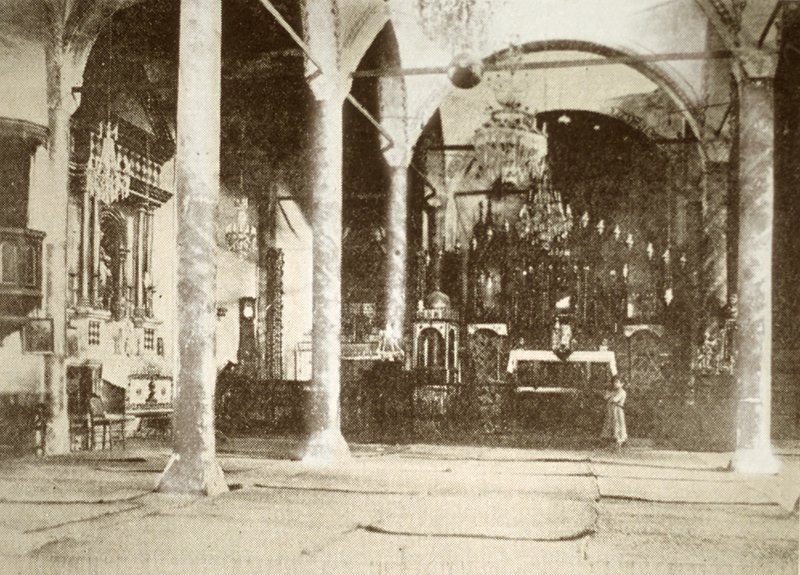 Interior of St. Pergich Church of Marash