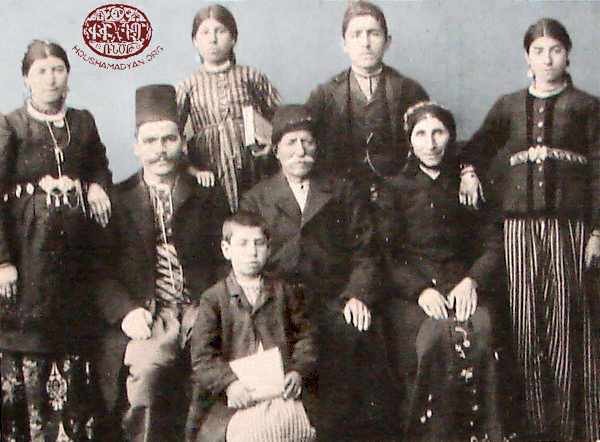 Hussenig. An Armenian family (Source: Andranik Michaelian collection)