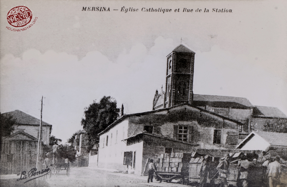 Mersin: The Armenian catholic church of the town