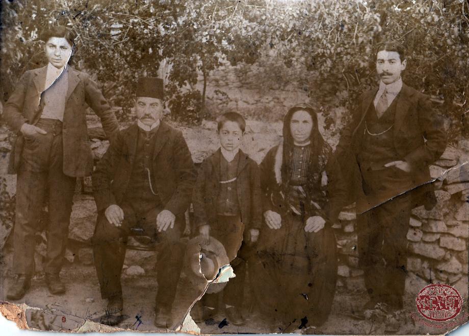 Sivrihisar, 1900. The Sandalian family