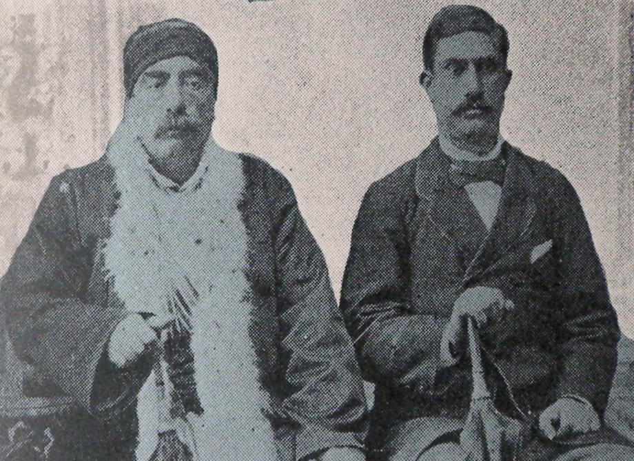 Hovhannes Bilezigdjian (1826-1892) and Hovhannes Topalian (1853-1932) (Source: Kalusdian, op. cit.)