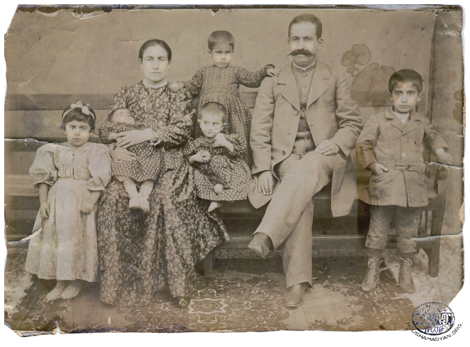 The Kaboulian family, Agn, ca 1906