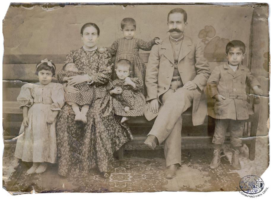 Քապուլեան ընտանիքը, Ակն, մօտաւորապէս 1906-ին