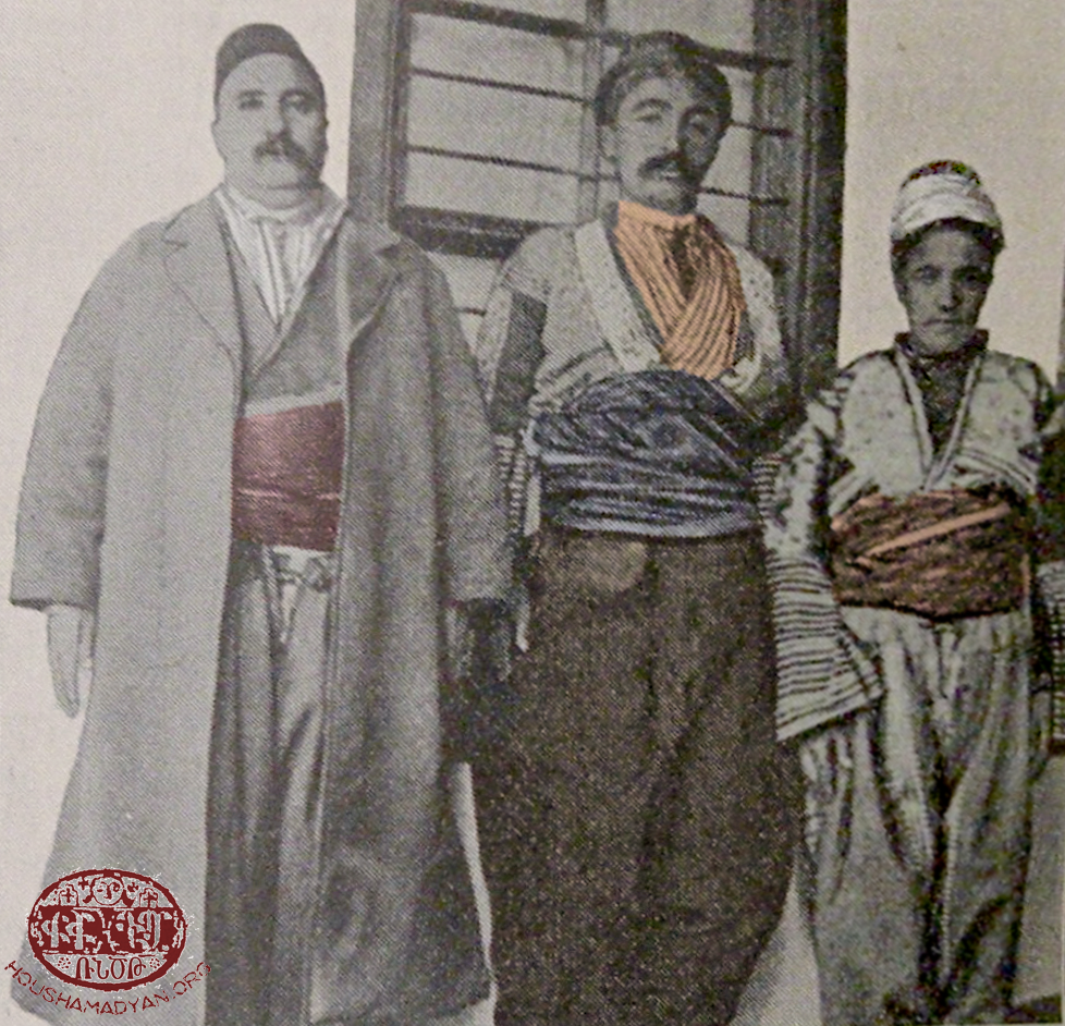 A notable from Zeytun with his two sons