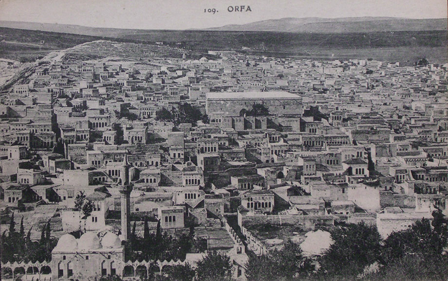 A panorama of the Armenian neighborhood of Ourfa
