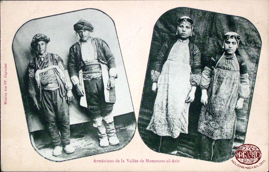 Harput Ermenileri. (Kaynak: Mişel Pabucciyan arşivi)