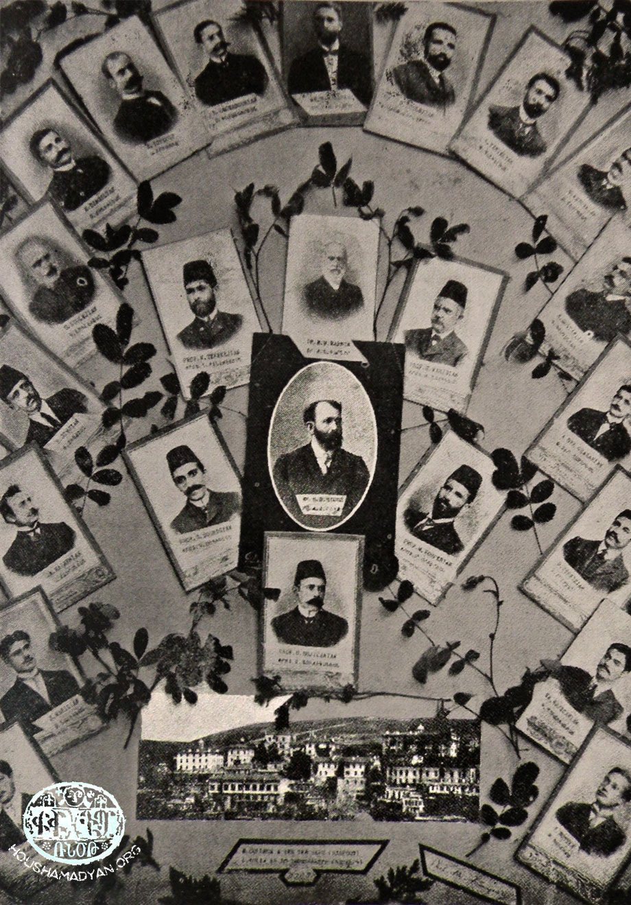 The Euphrates College teaching staff, 1908