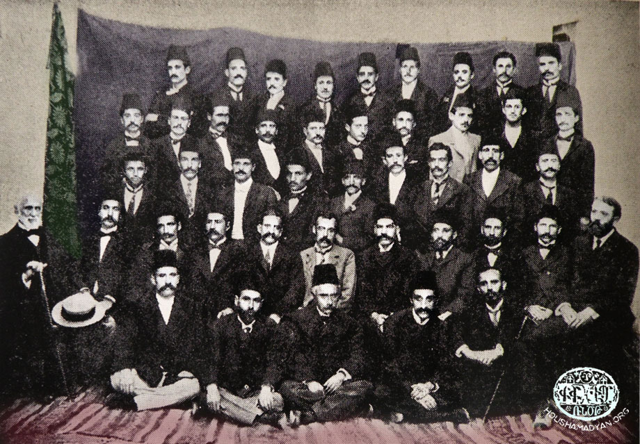 The Euphrates College teaching staff, 1905