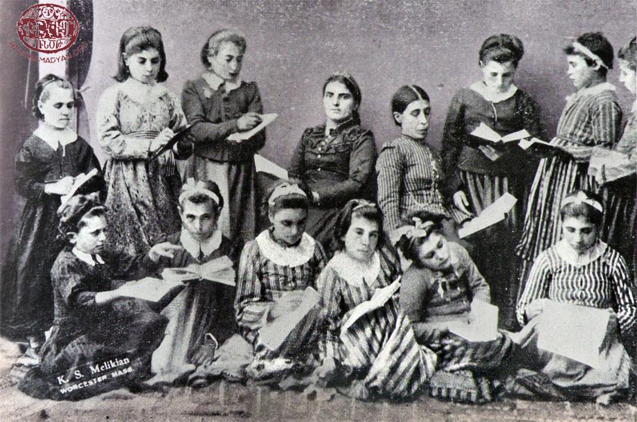 Խարբերդ, Եփրատ գոէլճի համալիրին մէջ 1900ական թուականներուն
