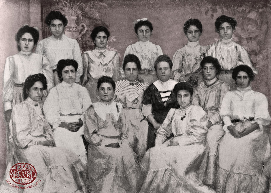 Euphrates College, Harput. Pedagogical School graduates and teachers
