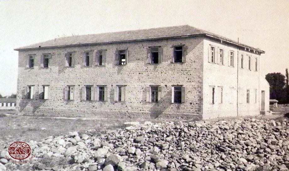 Տէօրթեօլի «Քելէկեան» որբանոց-վարժարանը հիւսիսային կողմէն դիտուած, 1921-ին
