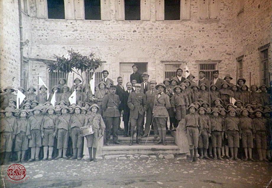 Տէօրթեօլի «Քելէկեան» որբանոց-վարժարանի սկաուտները, Դեկտ. 1919
