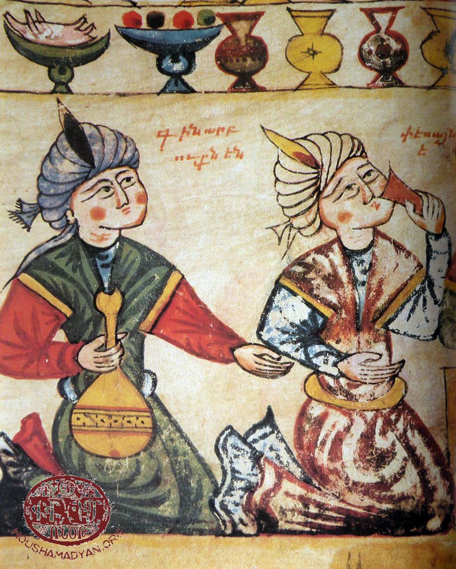 Gana düğünü, İncil'den, Khosrov Manastırı, 1430.