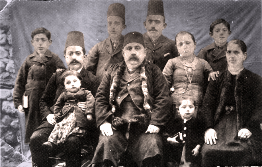 Aksaray, 1894: The Abadjian family