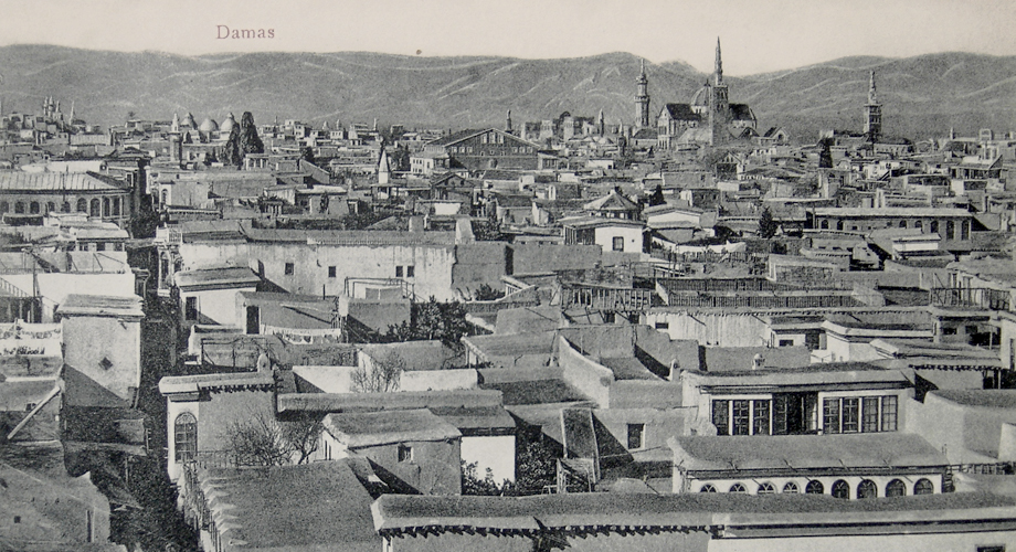 A panoramic view from Damascus (Michel Paboudjian Collection)