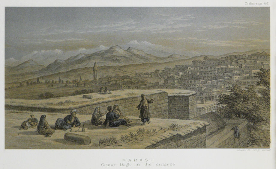 [Translate to Türkisch:] Marash. Engraving (E.J. Davis, Life in Asiatic Turkey, London, 1879)