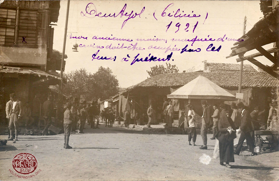 Dörtyol, 1921 (Source: Grégoire Tafankejian, Valence)