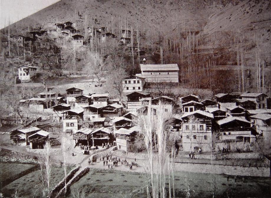 General view of the village of Khodorchur/Hodiçor (present-day Sırakonaklar)