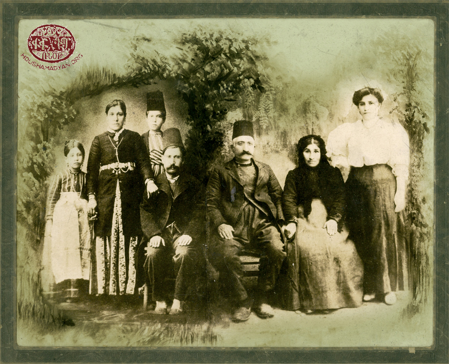 The Gosdanian family from the town of Harput/Kharpert.