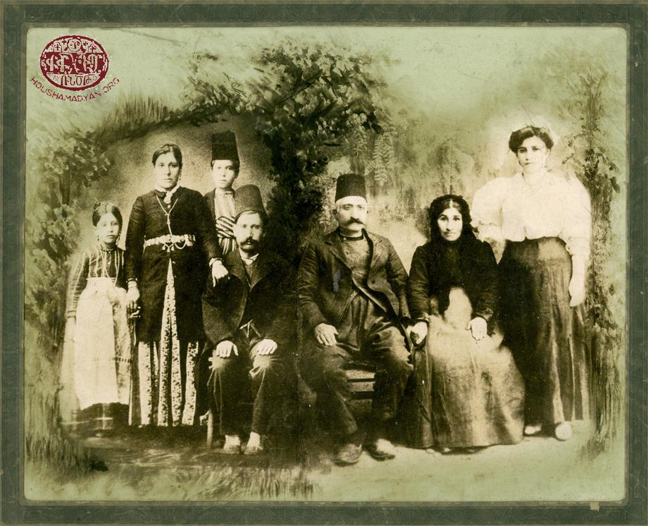 Կոստանեան ընտանիքը, Խարբերդ քաղաքէն