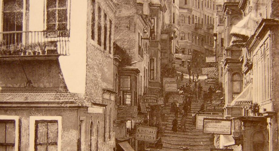 Istanbul - Yüksek Kaldırım Street (Michel Paboudjian Collection)