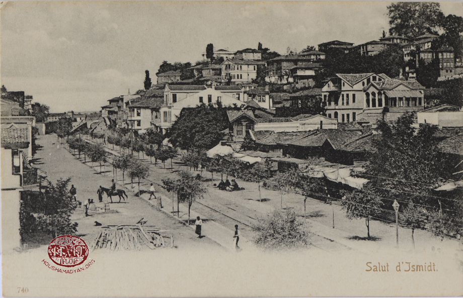 Izmit: A view of the town