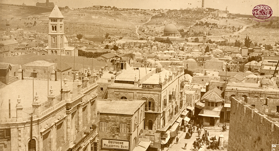 A scene from the city of Jerusalem