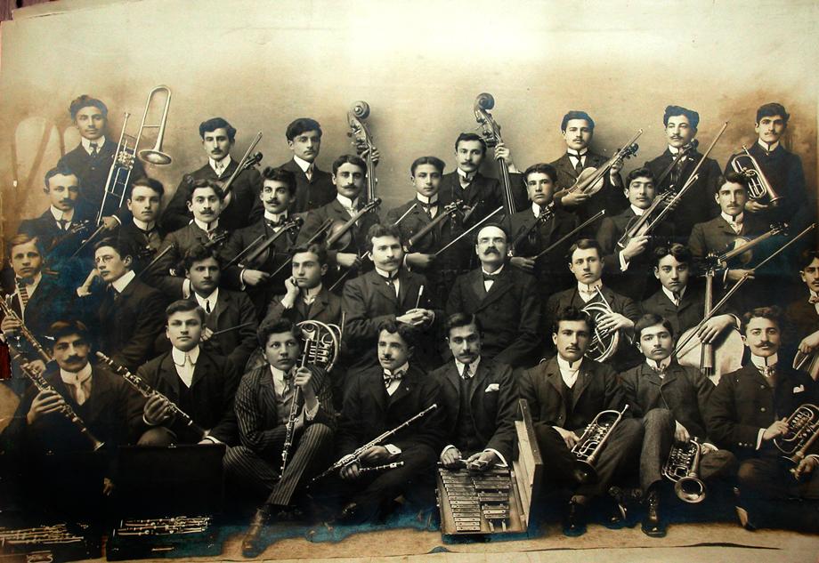 Մարզուան / Մերզիֆոնի Անաթոլիա գոլէճի (Anatolia College) նուագախումբ մը