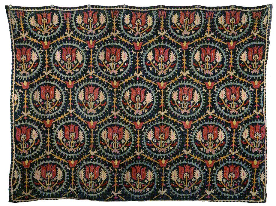 A piece of 'Marash work' embroidery (Source: Angèle and Dickran Kouymjian collection, Paris)