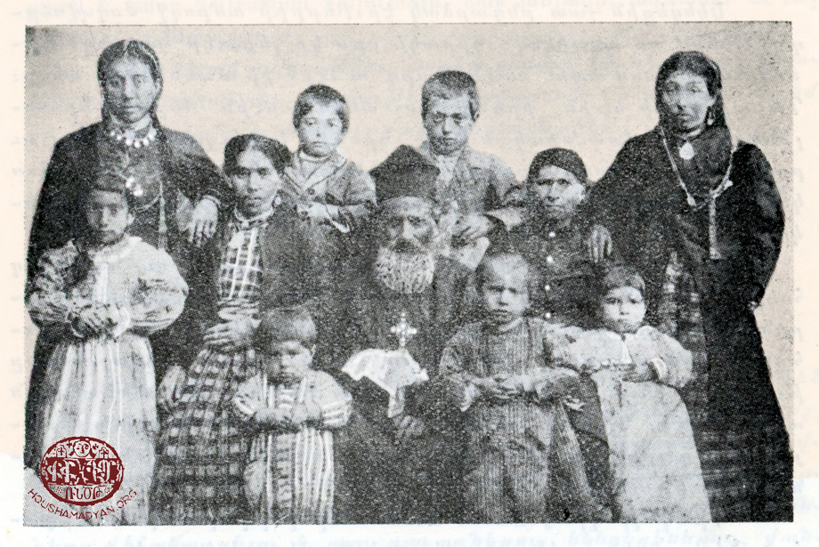 Family of Father Arisdages Maghoyian (Mazgerd/Mazgirt)