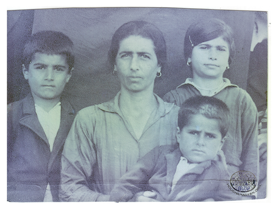 Shirikian family members of Mousa Ler; 1933